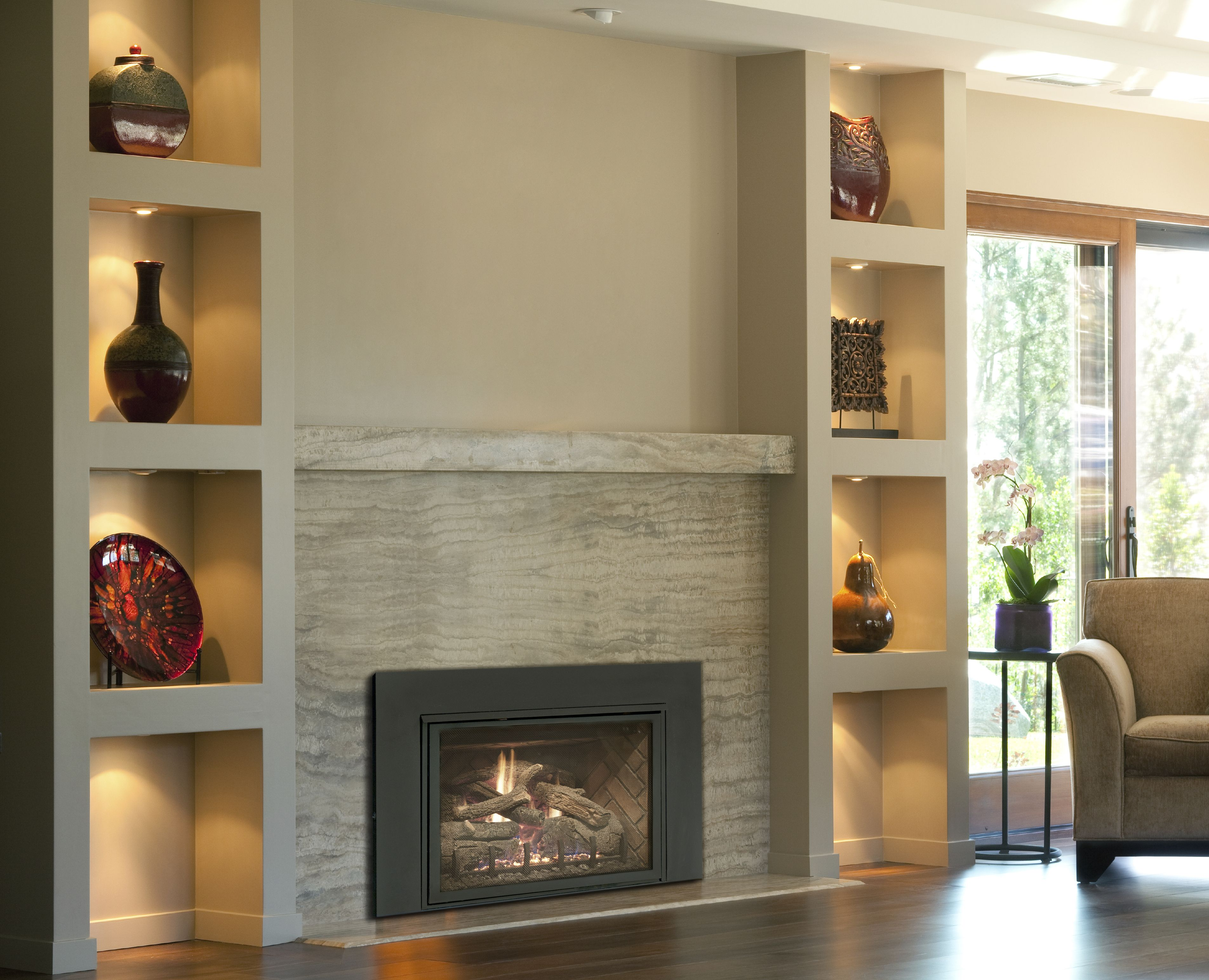 Real Fyre Direct Vent Gas Inserts Www Rhpeterson Com Realfyre Fireplace Design Fireplace Remodel Direct Vent Fireplace