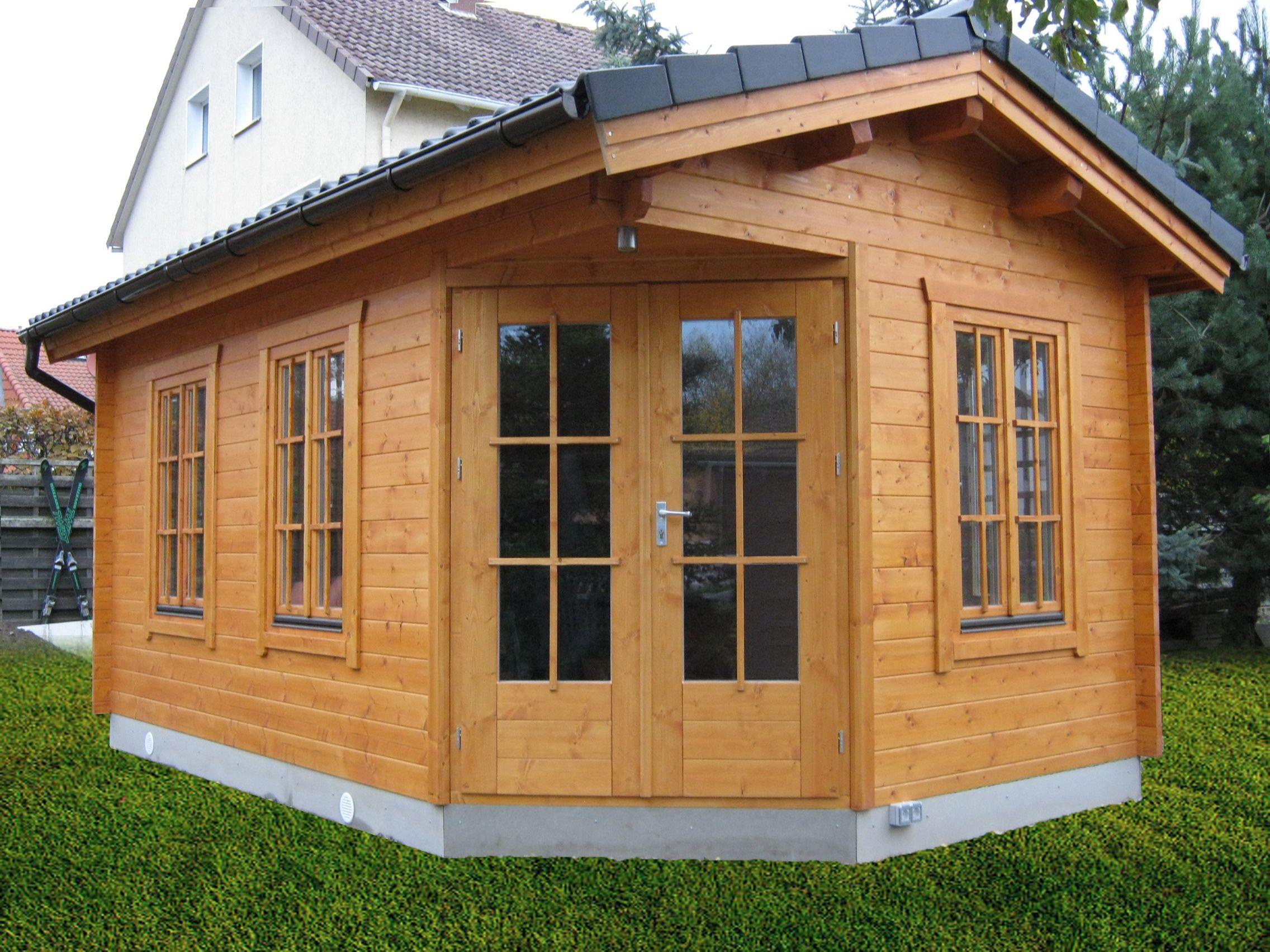 Winterfestes Gartenhaus Zum Wohnen