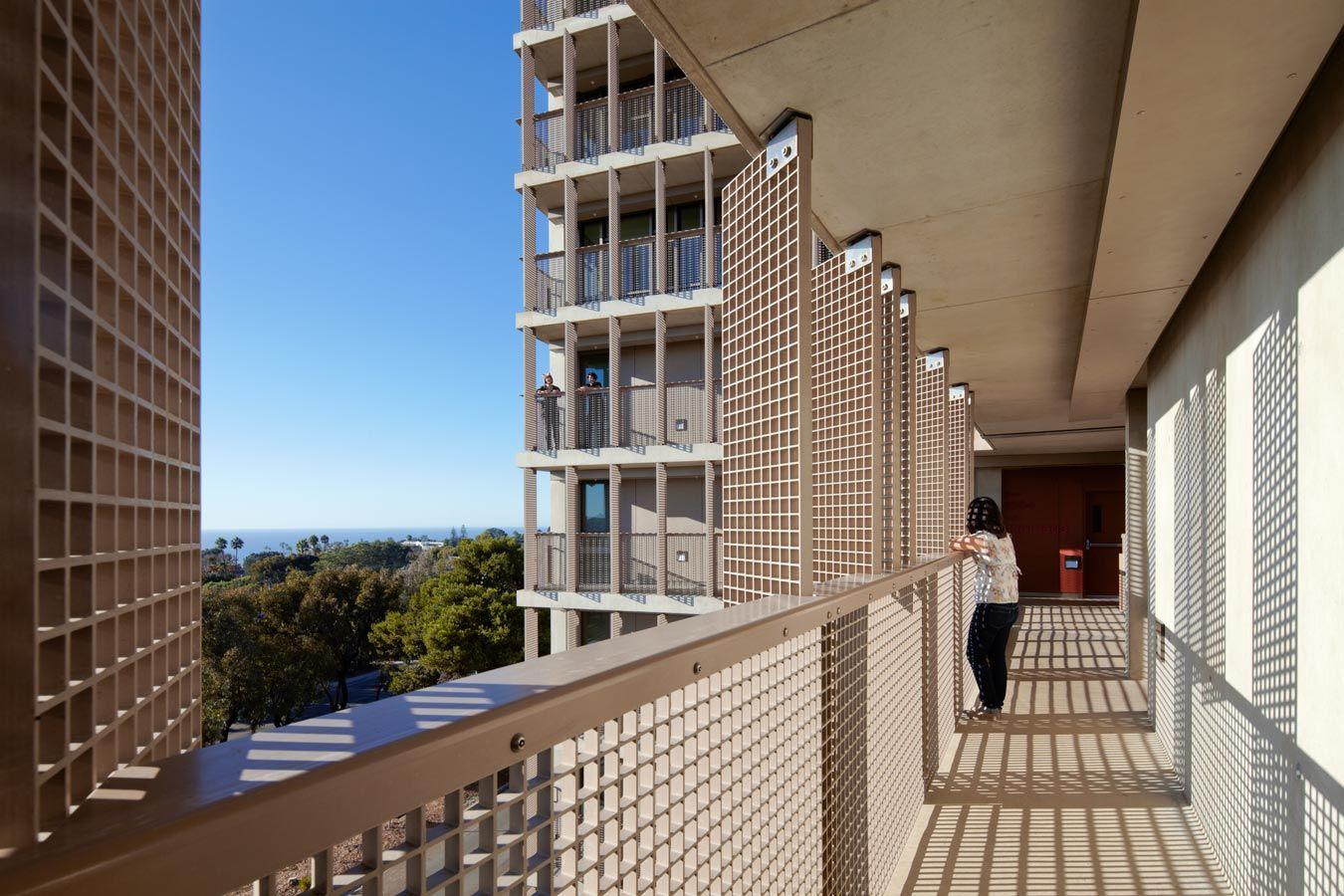 Corridor Roof Design: Exterior Corridors, Connector Bridges Between Buildings