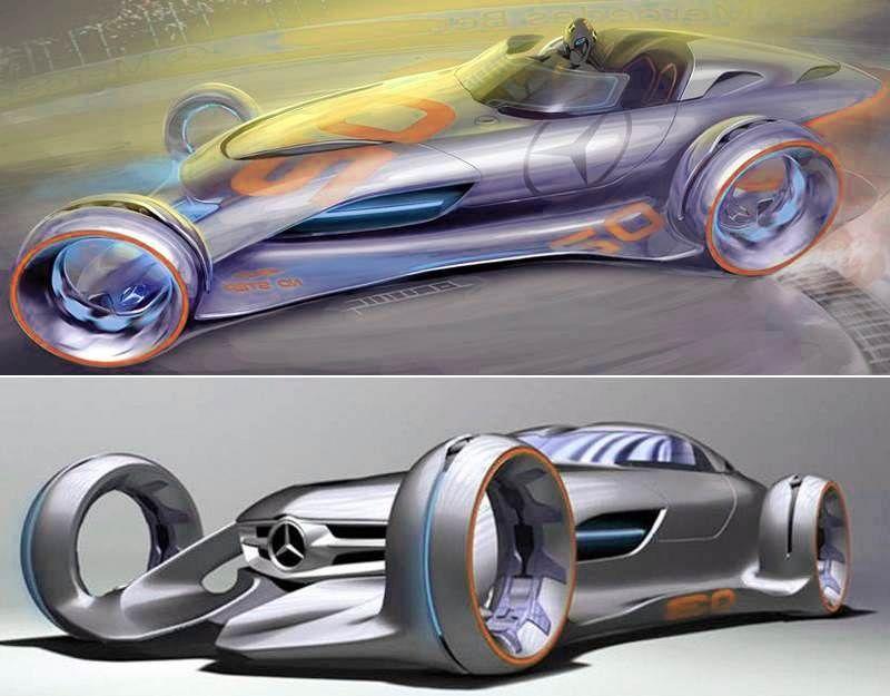 Mercedes benz silver lightning concept automobiles bikes for Mercedes benz silver lightning