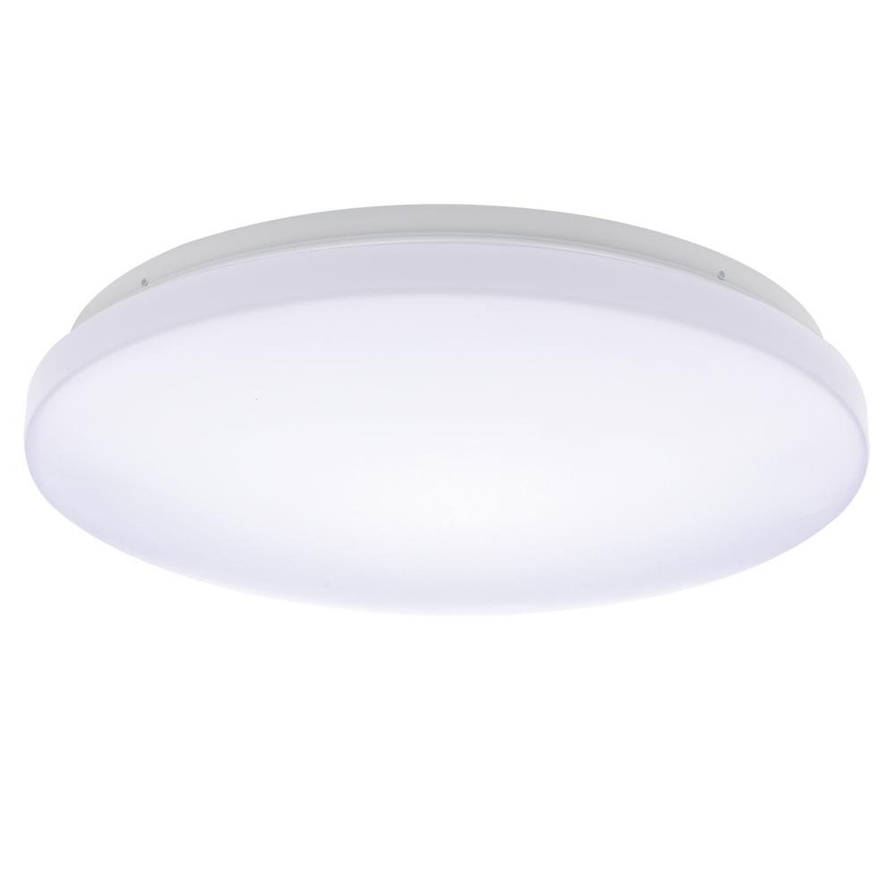 Modern Led Lighting Ultra Thin Round Flush Mount Ceiling Fixture