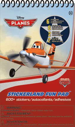 8b913a5b3d90 Disney Planes - Stickerland Pad 16 page Activity Pad | Disney | Food ...