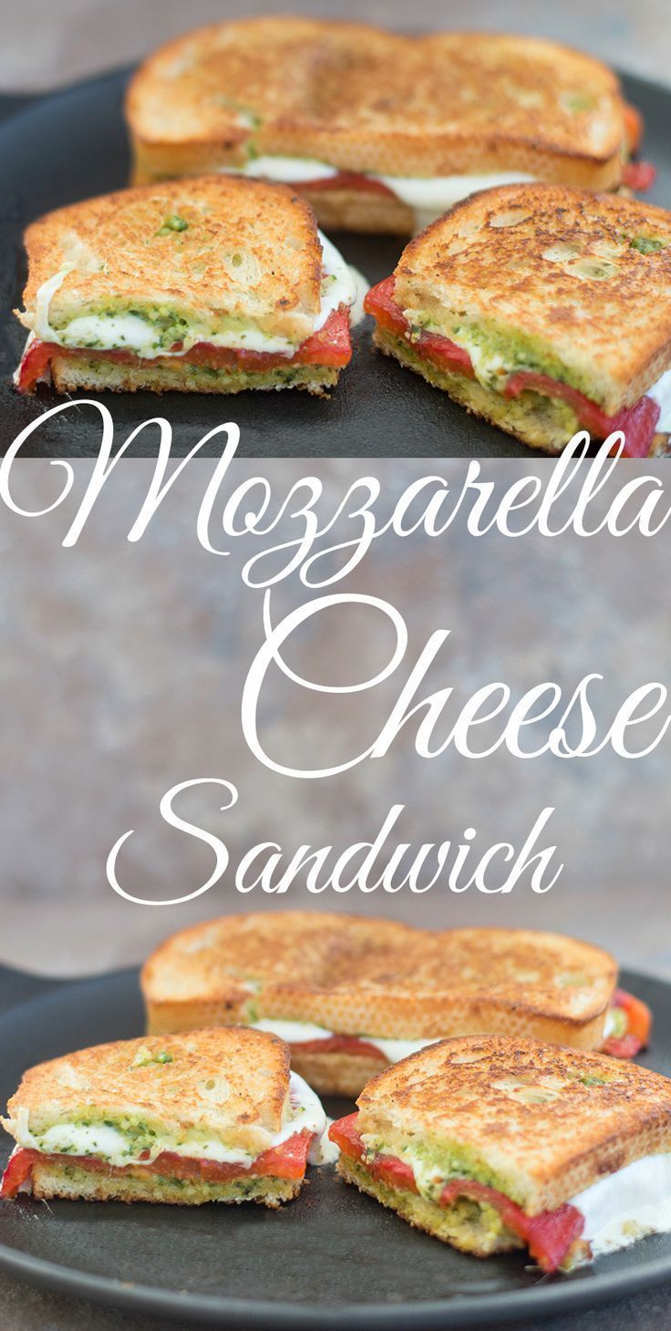Mozzarella Cheese Sandwich #sandwichrecipes