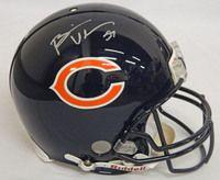 Brian Urlacher Signed Bears Riddell Authentic Proline Helmet