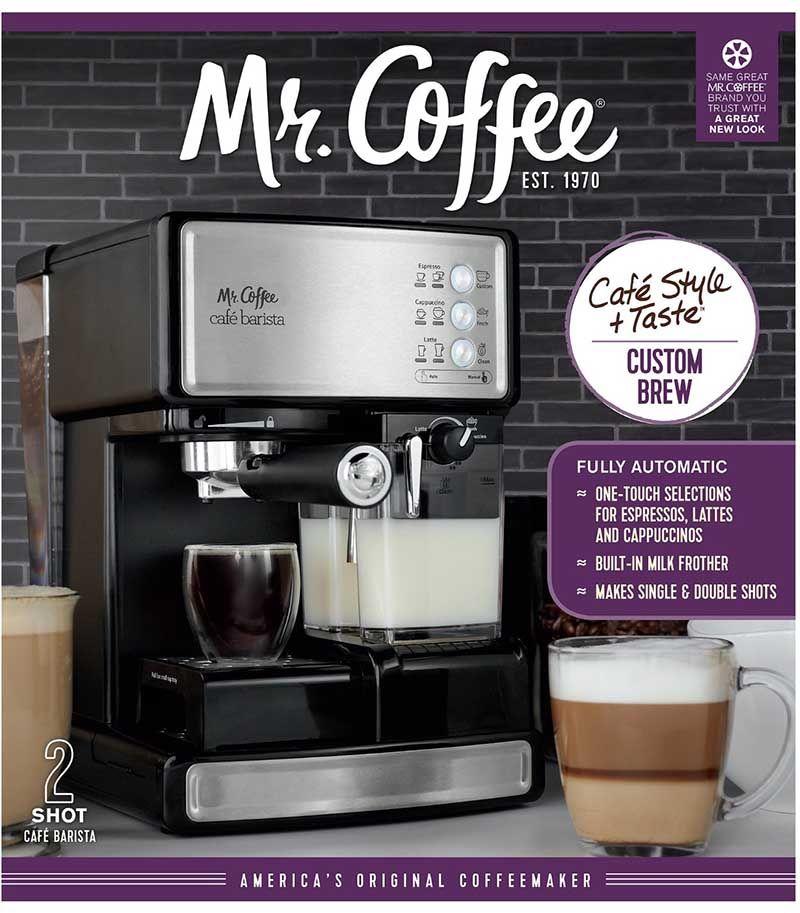 Best Espresso Machine Under 200 For Sale Mr Coffee Ecmp1000