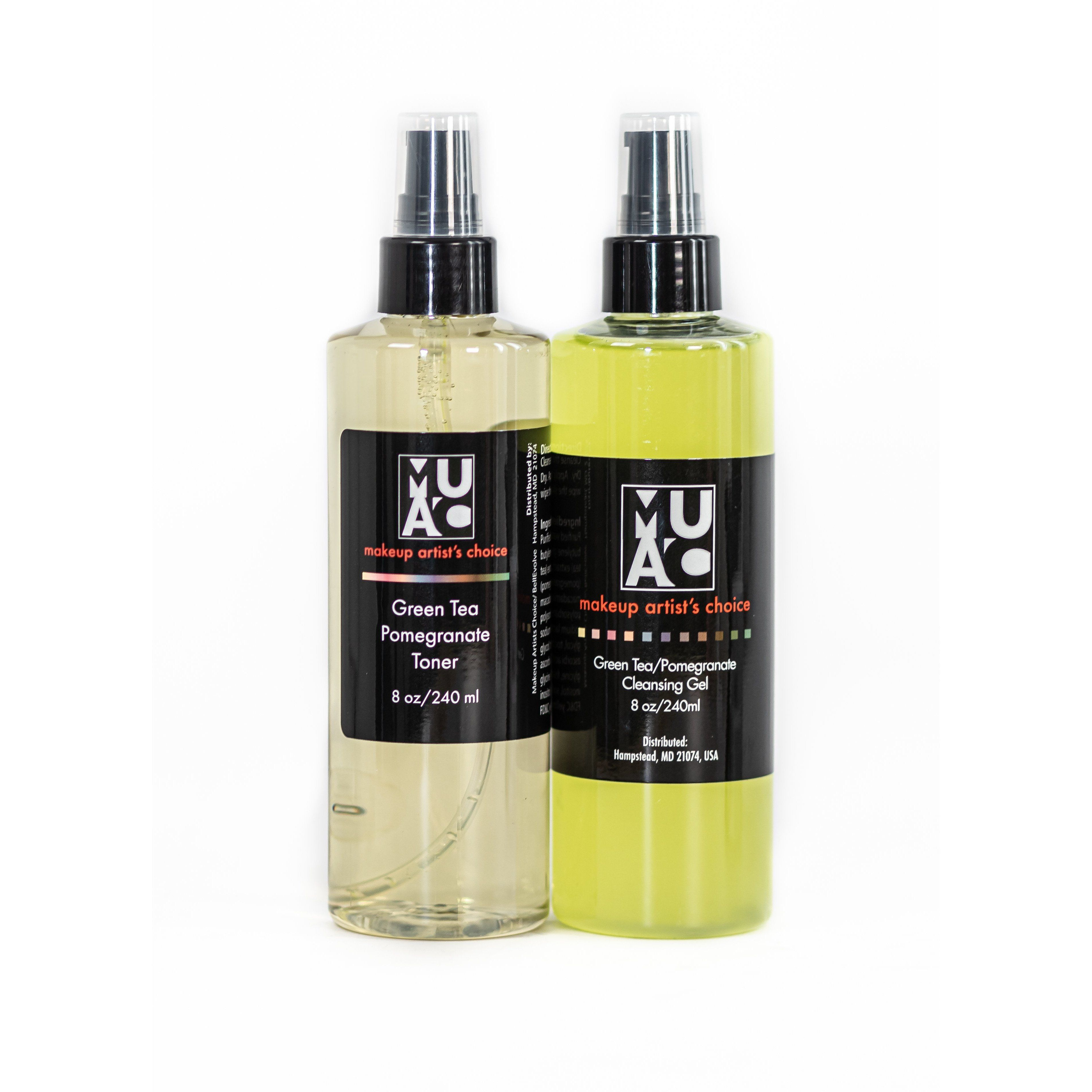 Photo of Green Tea/Pomegranate Cleanser or Toner or Both – No / 8 oz pump bottle / No
