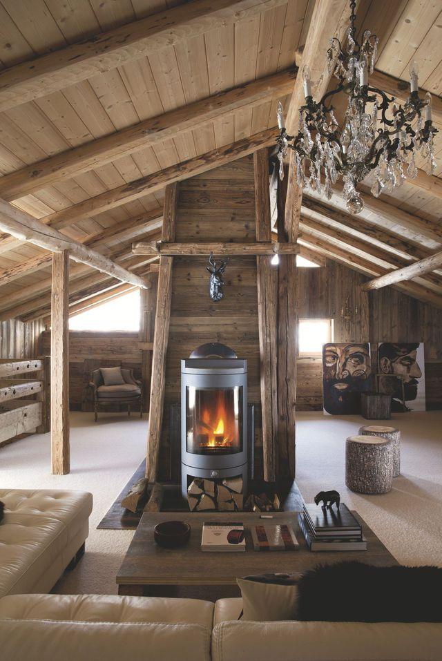 Pingl sur d co - Deco cheminee interieur ...