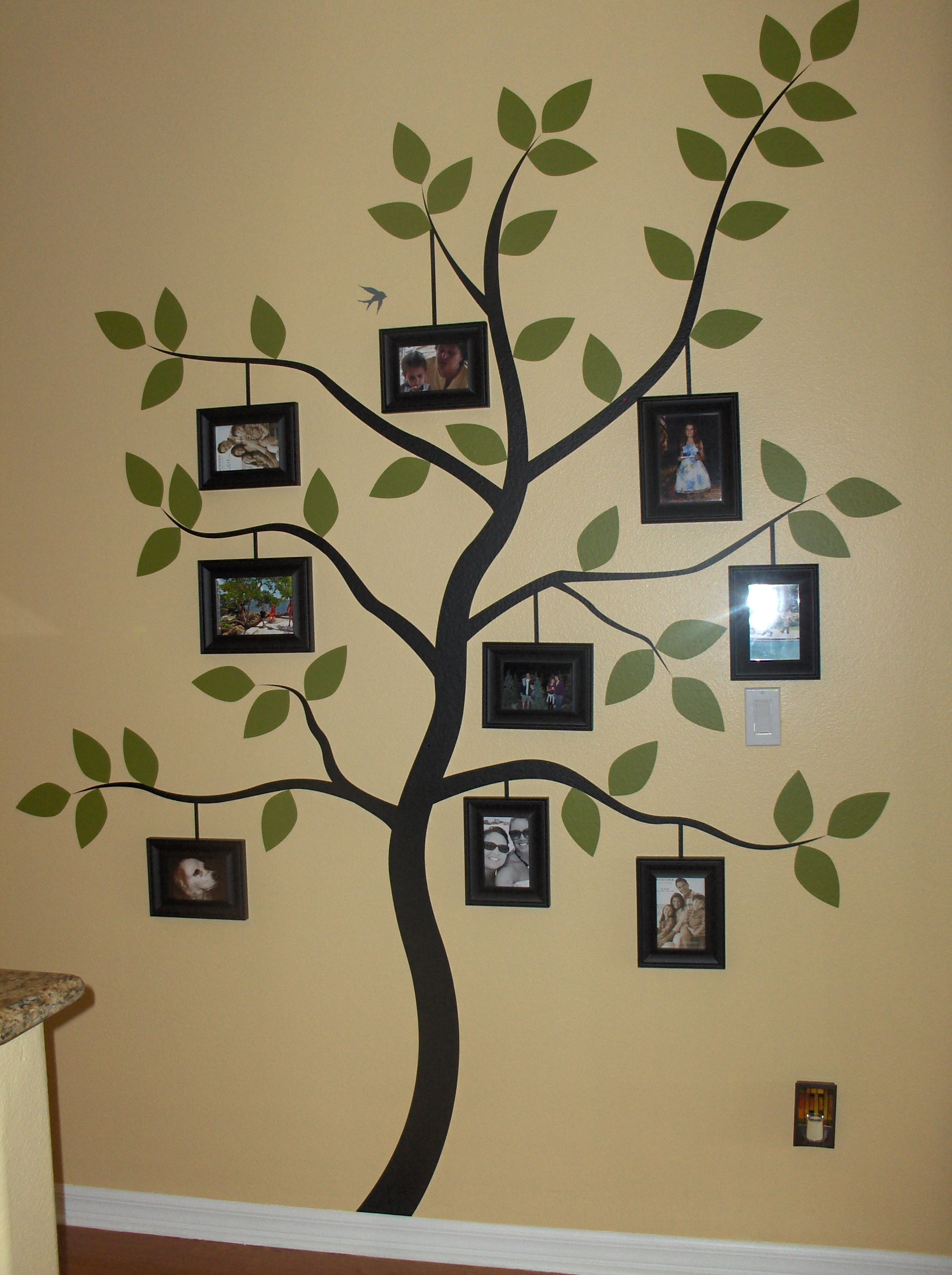 Family Tree Decal Was So Easy To Put Up Family Tree Wall Decals - Instructions on how to put up a wall sticker