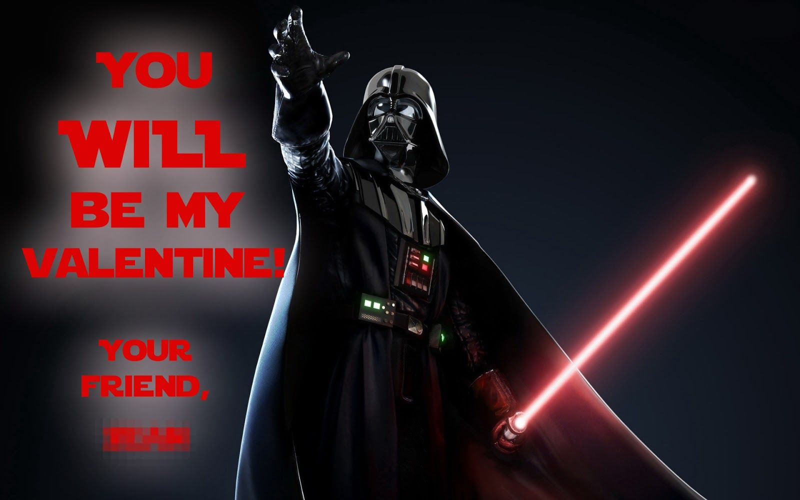 Star Wars Valentine Card Ideas