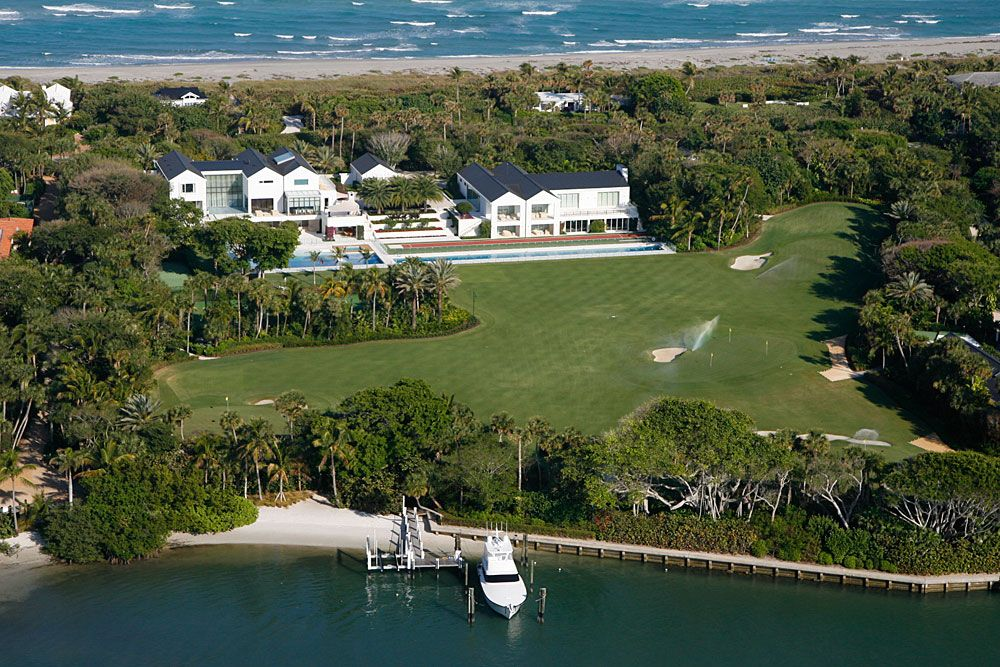 arial view of tiger woods u0026 39  house in jupiter  fl  complete