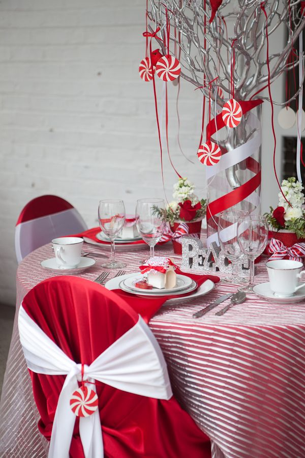 Holiday Table Decor Ideas On Any Budget Holiday Table Decorations Christmas Table Decorations Christmas Table Settings