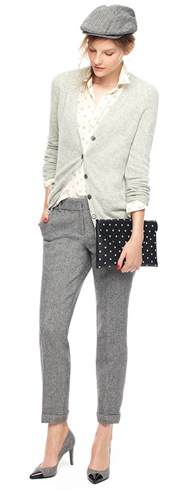 mens wear and the clutch
