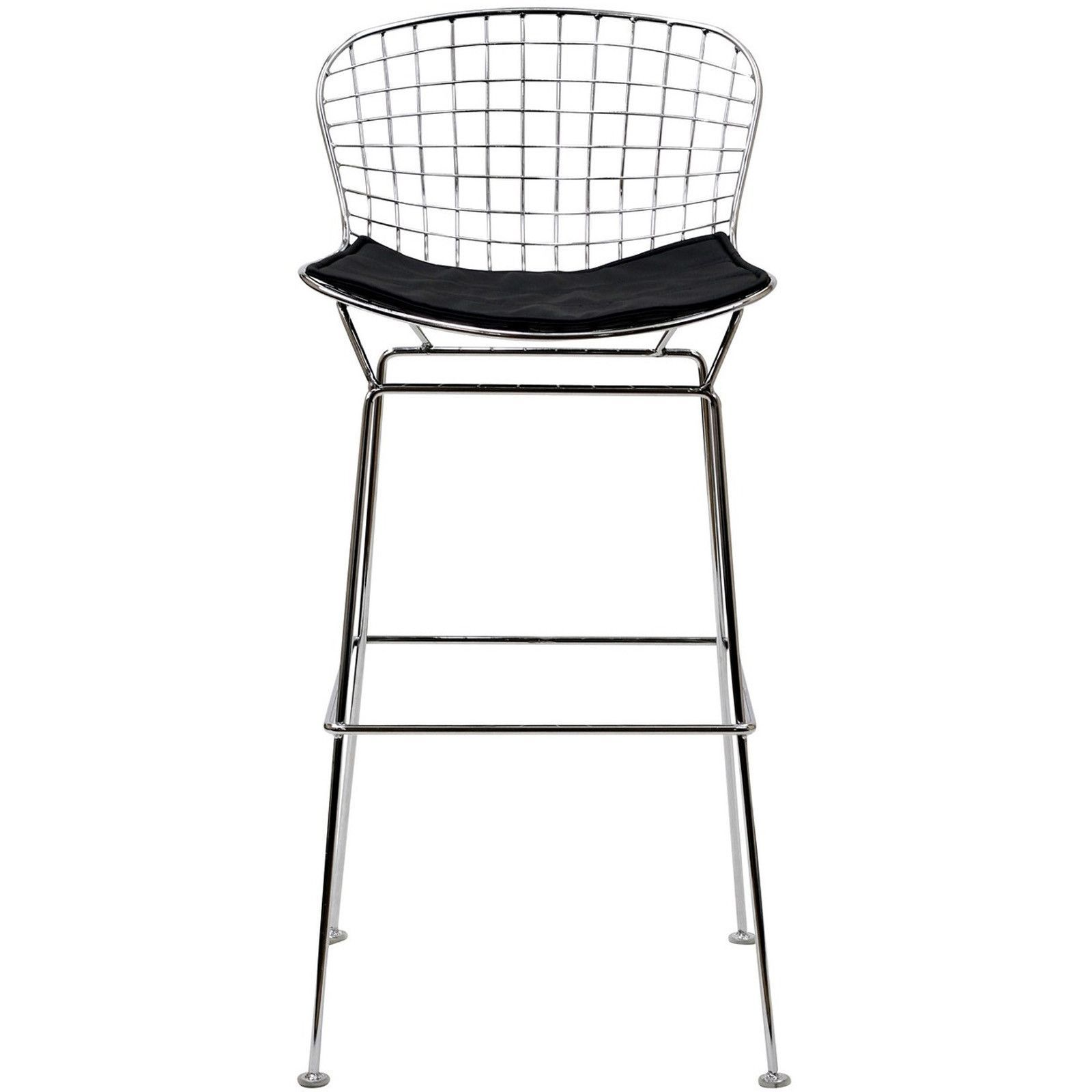 Wire Bar Stool In Black Wire Bar Stools Metal Bar Stools Bar