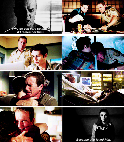 Teen Wolf - Season 6 - Stiles and his dad