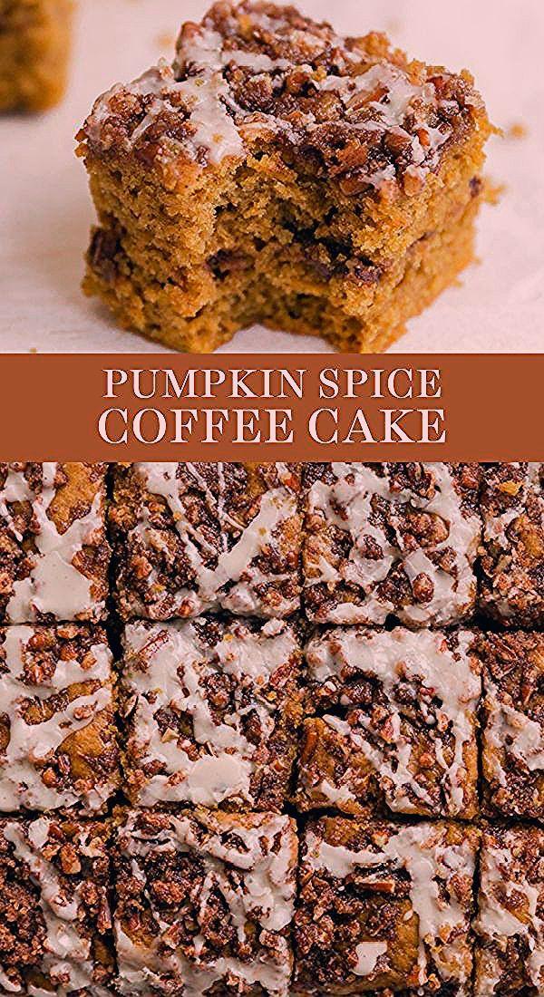 Pumpkin Spice Coffee Cake features a moist sour cream ...