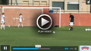 Goalkeeper - Controlling Rebounds - Jason Hamilton - Troy Univ. [VIDEO] - Coach Jason Hamilton explains and goalkeepers demonstrate this rebounding drill