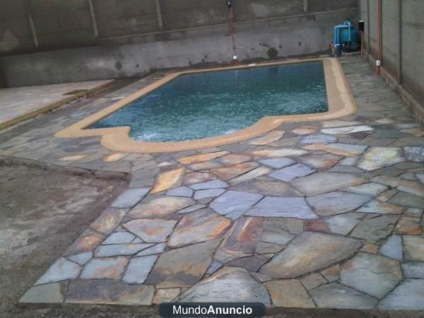 Piedras lajas bogot casita 2 pinterest laja for Construccion de piscinas naturales en argentina