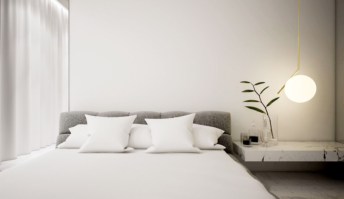 White Minimalist Spaces That Will Make You Forget All About Color Bedroom Interior Bedroom Design Home Interiors And Gifts