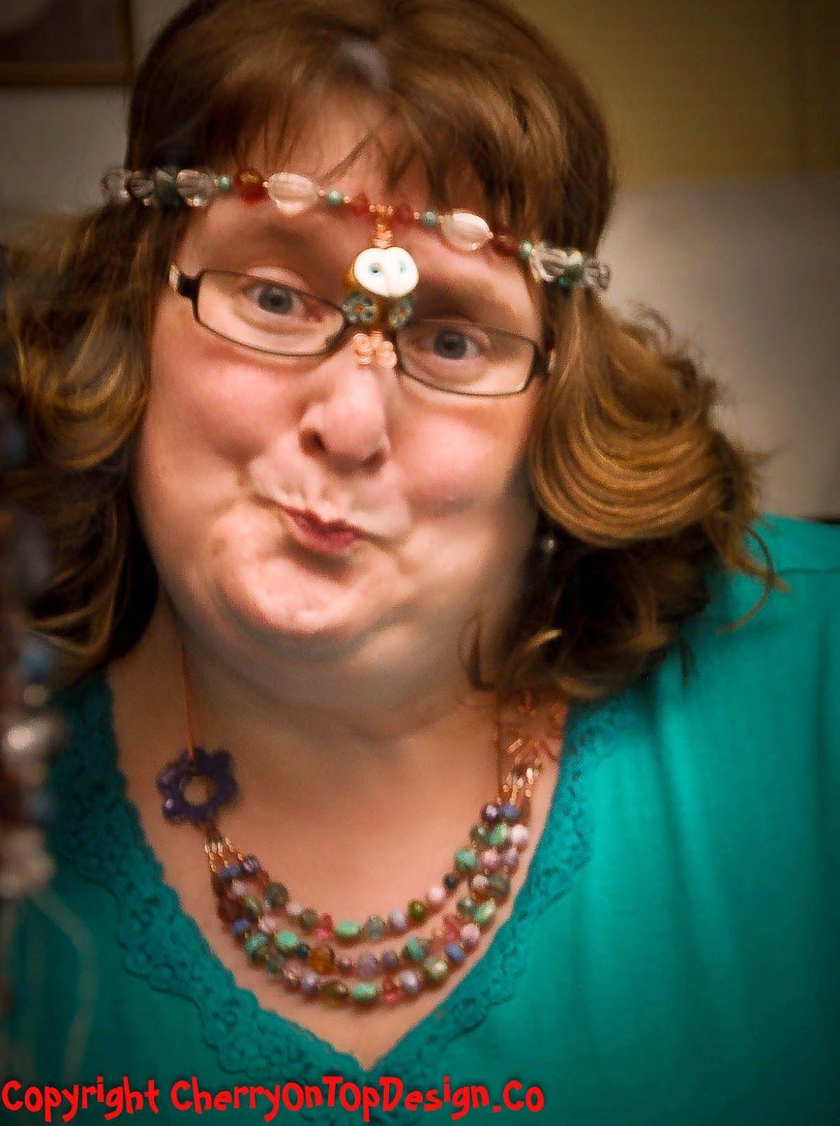A gorgeous selfie featuring my BeadSoup jewelry -   http://fromTheBeadBoard.blogspot.com http://cherryOnTopDesign.co