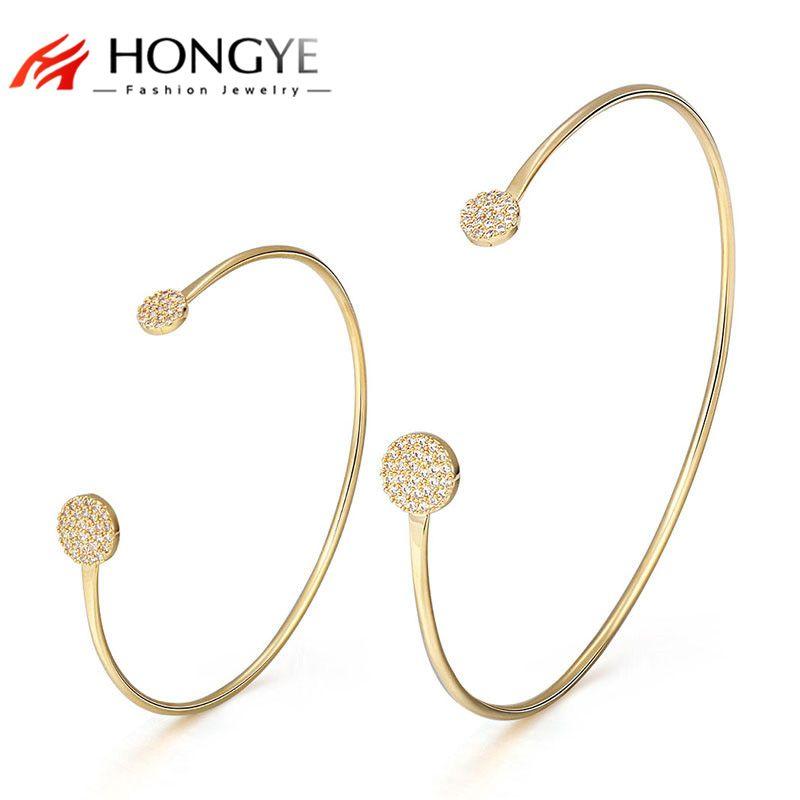 Femme Strass Cristal Bracelet Fashion Manchette Réglable Bangle Bijoux Cadeau