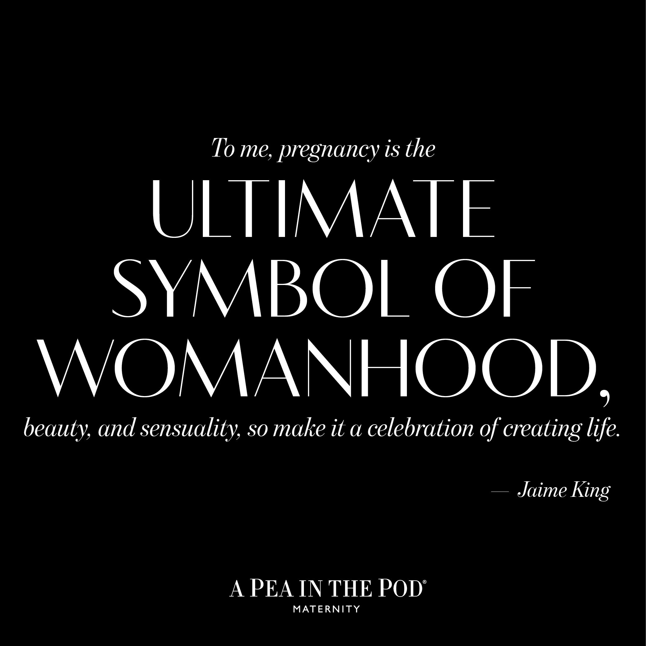 Momspiration Monday // Jaime King | Celebrity quotes about pregnancy