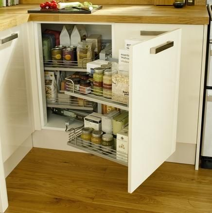 Corner Storage Unit Kitchen Storage Solutions Howdens Joinery Kitchen I