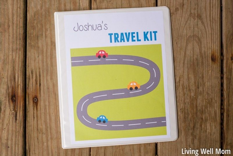 DIY Kids' Travel Binder + Free Printable Road Trip Games is part of Printable road trip games, Travel binder, Kids travel activities, Kid travel kit, Travel games, Road trip games - Try this easy DIY activity travel binder and free printable games for your next road trip and turn a long drive into fun family time for kids and adults