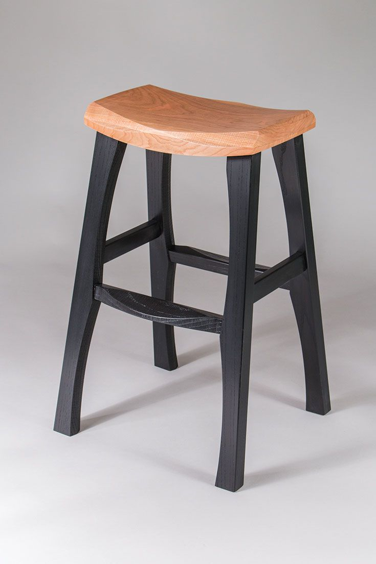 Astounding Rustic Bar Stool Cherry And Black Rad Bar Stools In 2019 Short Links Chair Design For Home Short Linksinfo