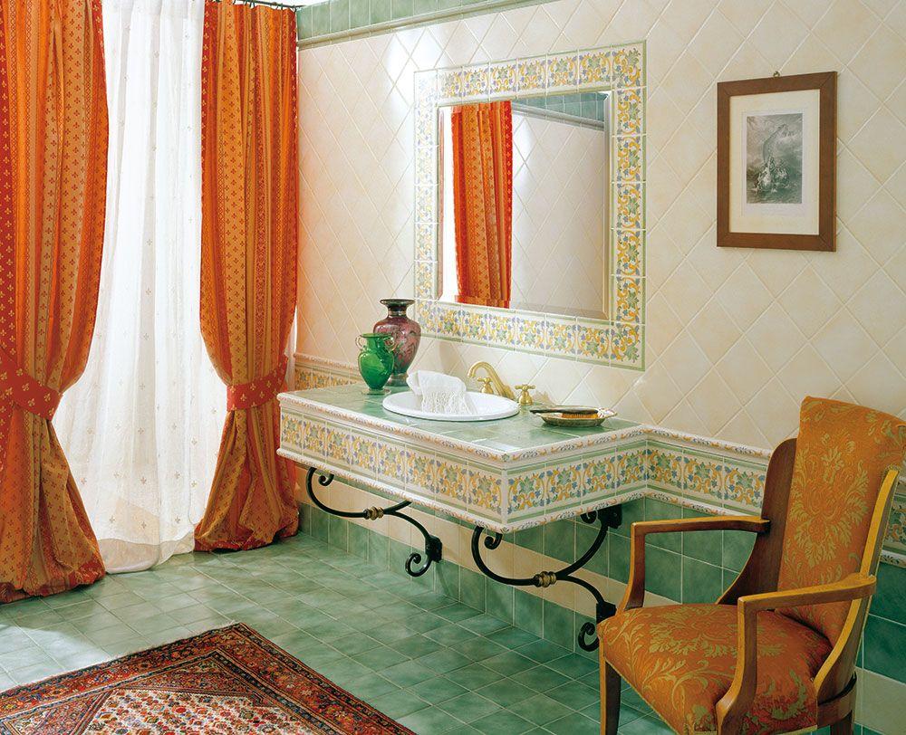 Decoratori bassanesi barocco piastrelle