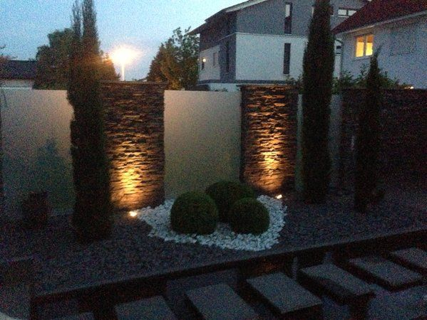 gaohx light wasserdichte led-nordic outdoor-gartenmauer, Garten Ideen