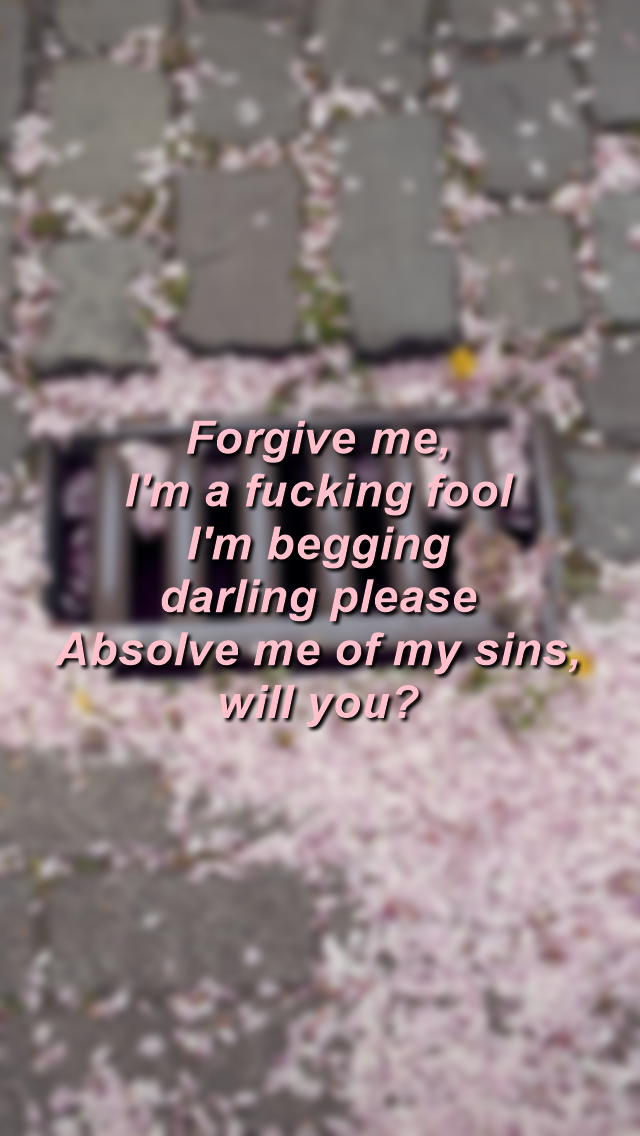 ❆ flume ft kai never be like you lyrics lockscreens ❆ if you ...