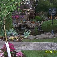 Landscaping My husband and I built this pond from below ground up! It took us three summers to build the pond(s) and anoth...#/902260/landscaping?&_suid=136103067201705273163993081605