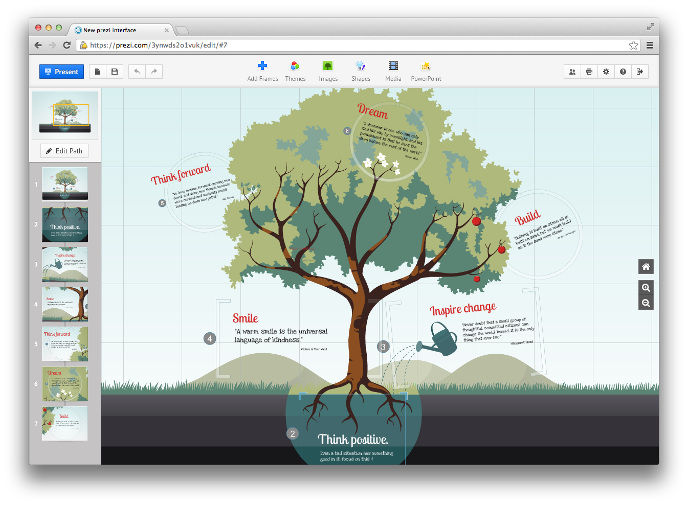 prezi. a really cool website that helps you create amazing, Modern powerpoint