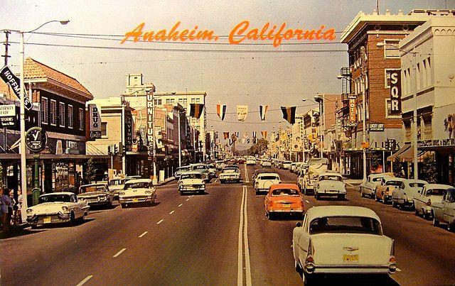Vintage Post Card: Downtown Anaheim California   Anaheim ...