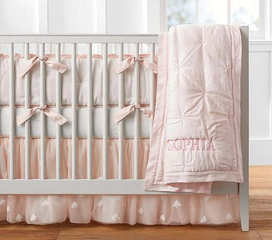 Monique Lhuillier Sateen Ethereal Butterfly Baby Bedding Girl