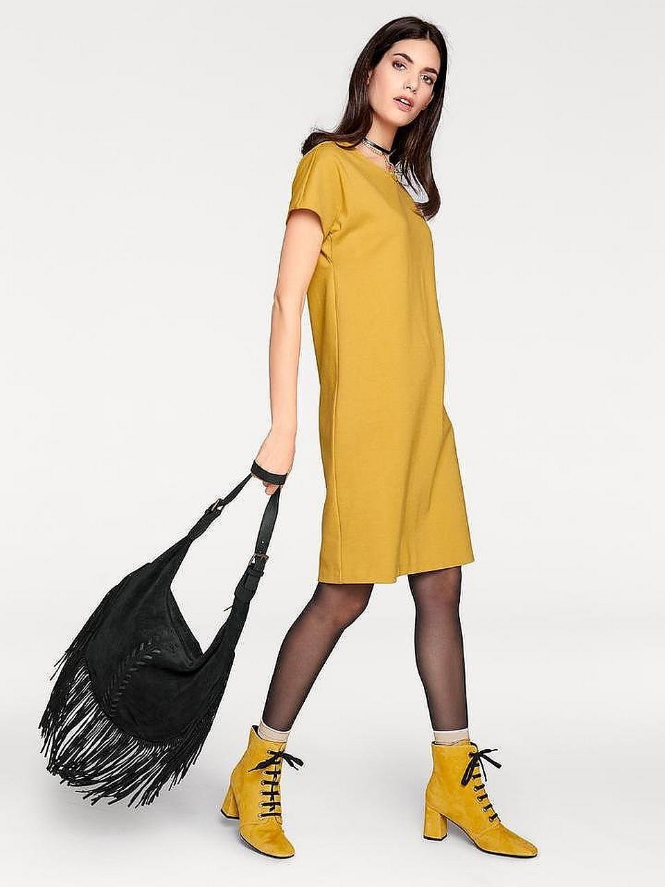 Schönheit Jerseykleid für Damen kaufen  BAUR  Gelbe mode, Mode, Gelbe bluse Einfach