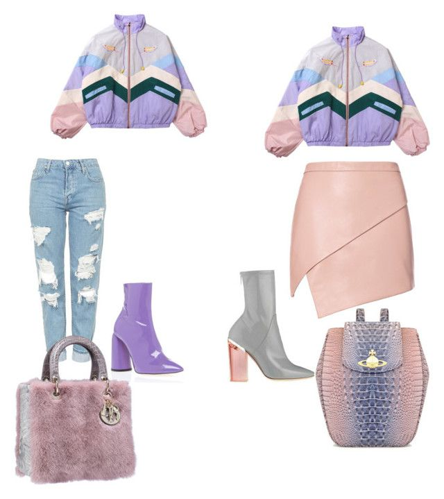 """Untitled #208"" by aikoedith on Polyvore featuring Topshop, E L L E R Y, Michelle Mason and Vivienne Westwood"