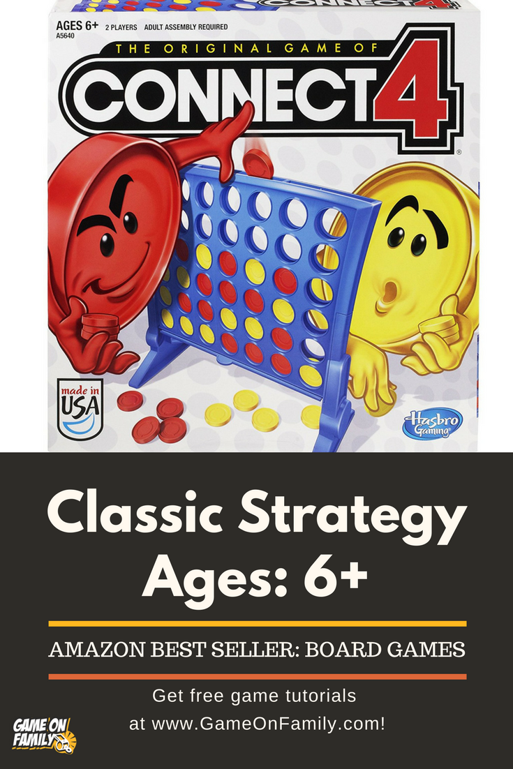 Connect 4 Classic Grid By Hasbro Challenge a friend to