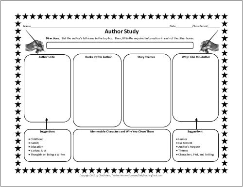 1000+ images about Author Study on Pinterest | Author Studies ...