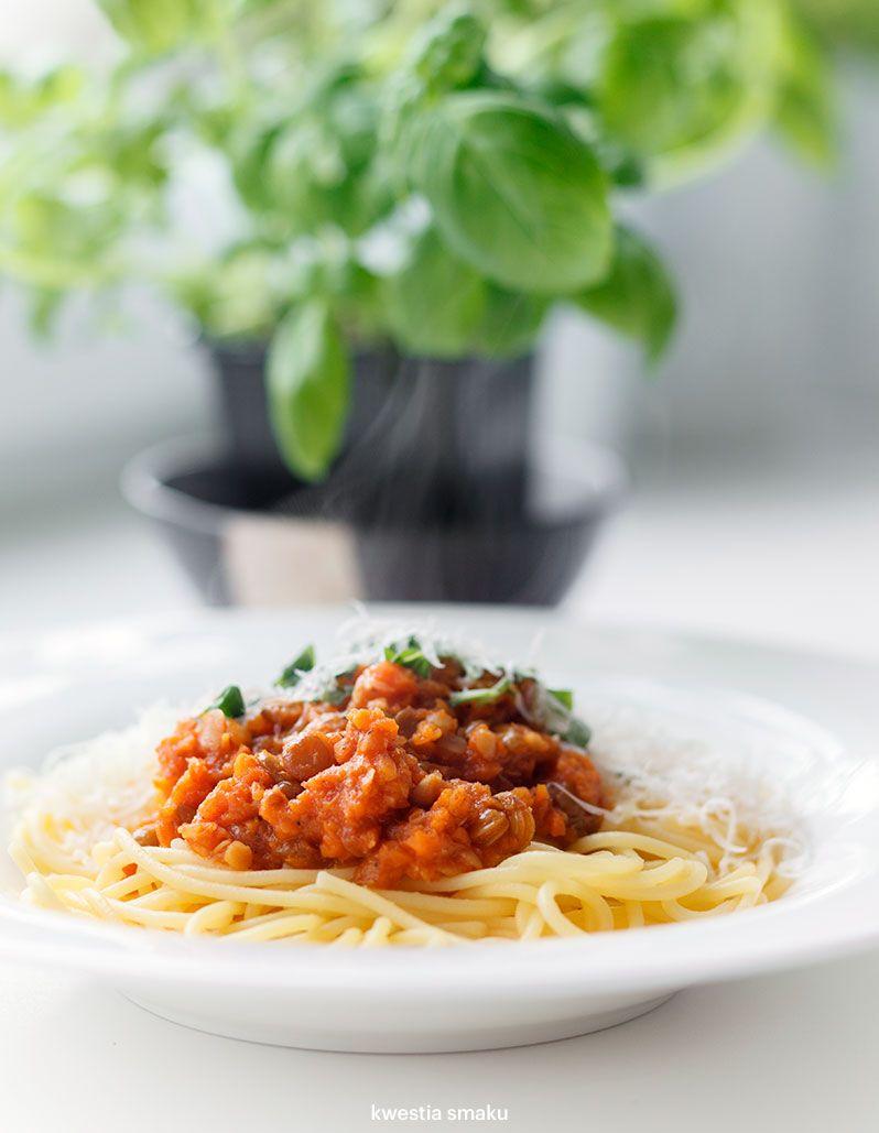 Wegetarianskie Spaghetti Bolognese Vegetarian Spaghetti Vegetarian Spaghetti Bolognese Healthy Dinner