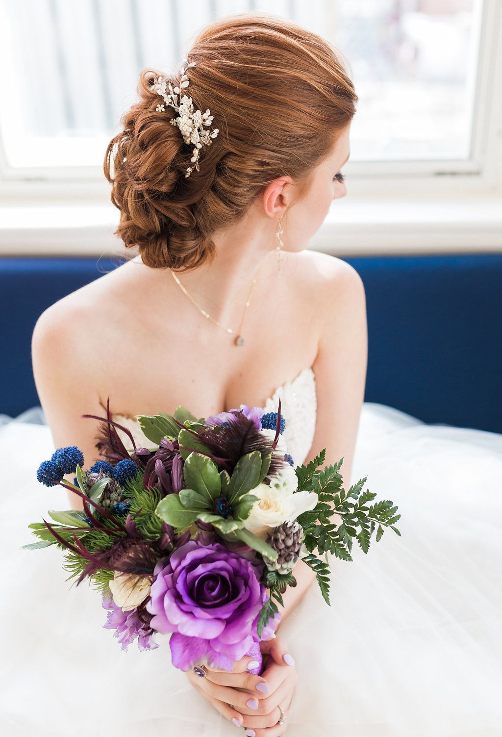 Ultra Violet + Opposites Attract Inspiration Shoot (With