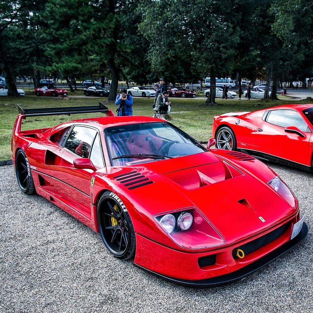 Ferrari F40, Exotic Cars, Ferrari