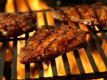 Pork Tenderloin and Grilled Peaches Recipe