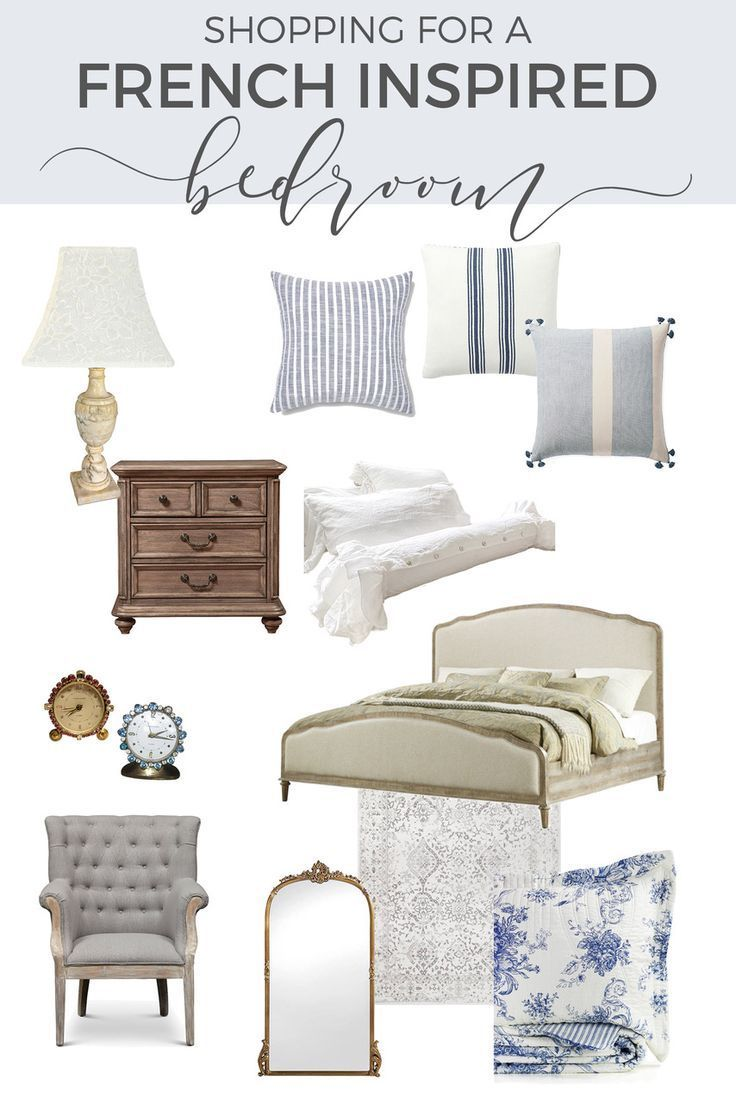 Photo of Summer Bedroom Tips – Soft French Country Style