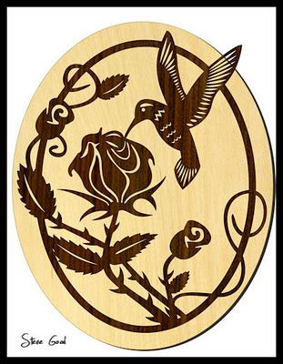 Free Printable Scroll Saw Patterns | Scrollsaw Workshop: Hummingbird Scroll Saw Pattern.