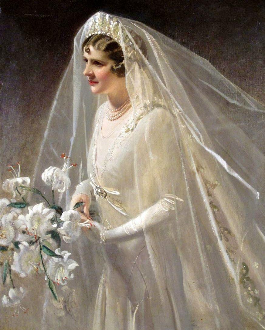 Sylvia by Frank Owen Salisbury   ART - IN A WEDDING DRESS ...