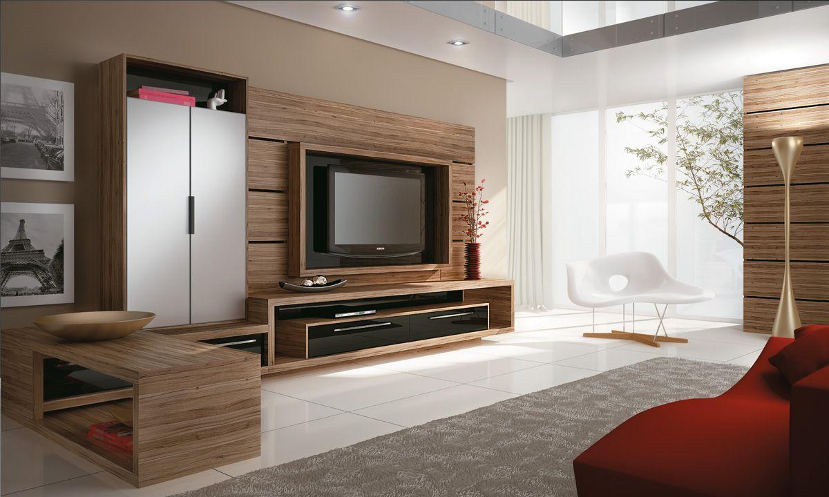 Rack Para Sala De Tv Planejado ~  Google  Planejados  Pinterest  Theater, Home and Home theater