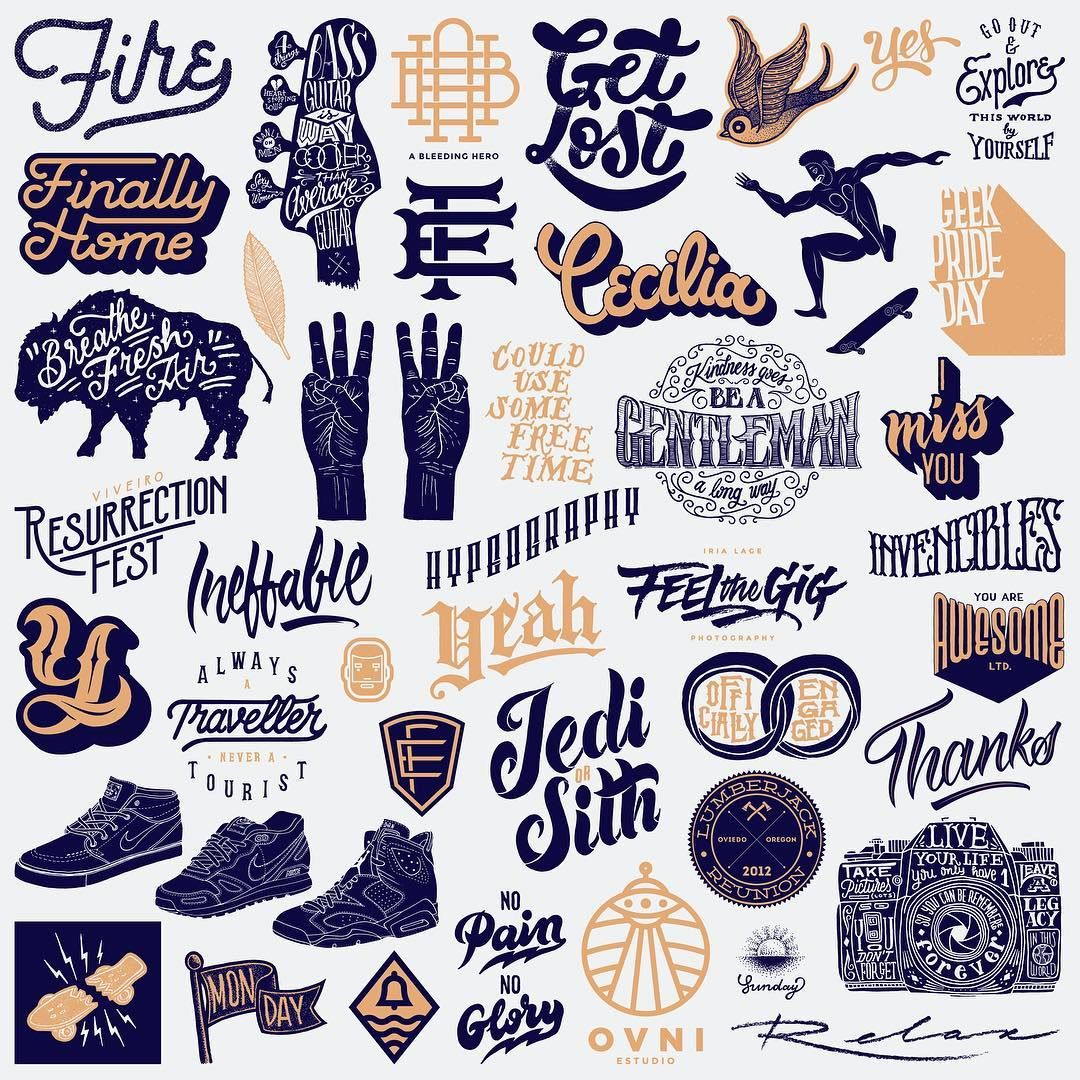 goodtype Love seeing beautiful one-sheets like these! Amazing work from the past year or so by @efless.    #StrengthInLetters  #Goodtype  #OneSheet  #OneSheeter  #Logotype  #Logotypes