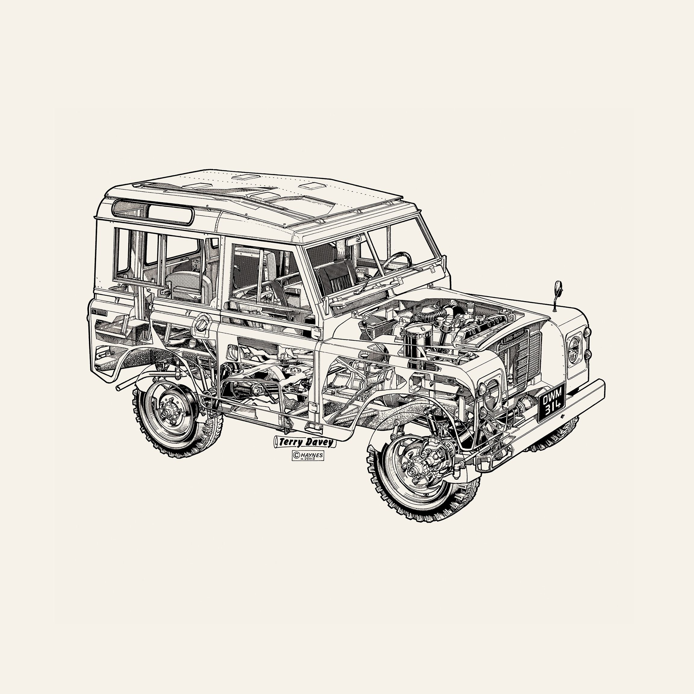 Land Rover Defender Print From The Haynes Auto Repair Manual Land Rover Is Discontinuing The