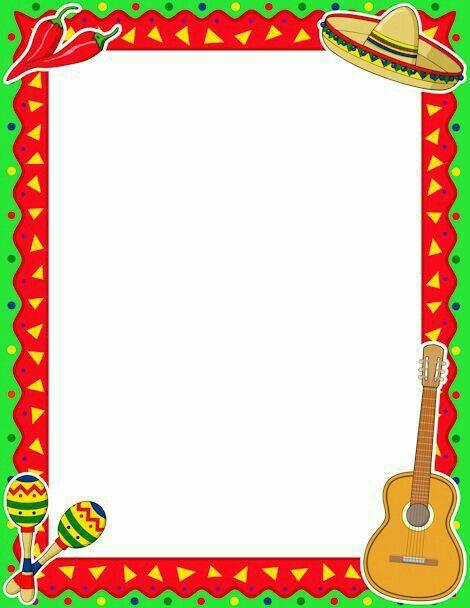 Ideal Para Hacer Tus Invitaciones De Fiesta Mexicana Tarjeta